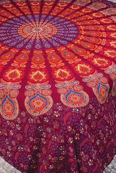 Purple Mandala Bedcover/Wallhanging