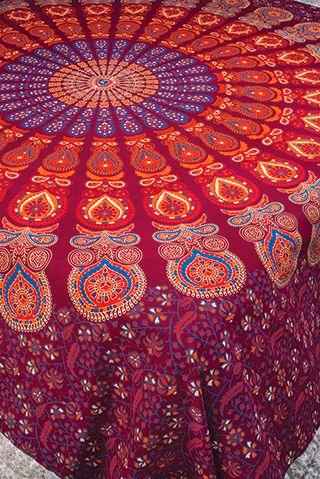 Purple Mandala Bedcover/Wallhanging