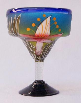 Lily Margarita Glass