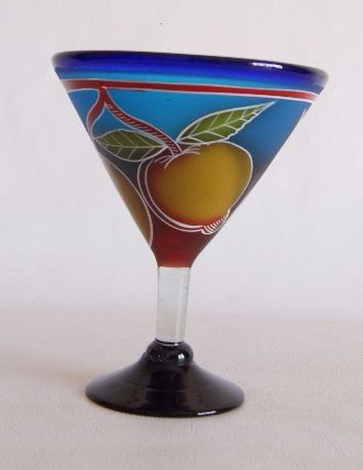 Fruity Martini Glass