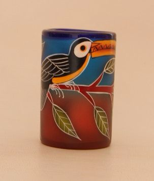 Toucan Tumbler Glass