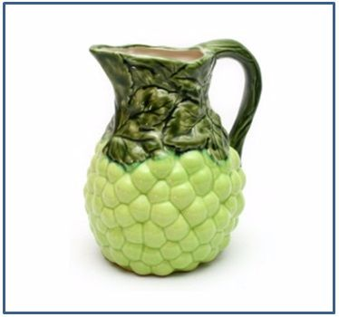 Grape Jug - Green