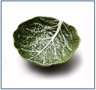 Cabbage Shallow Bowl