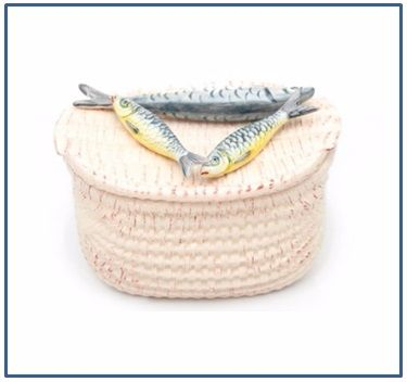 Sardine Basket Storage Box
