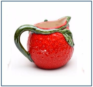 Strawberry Round Jug