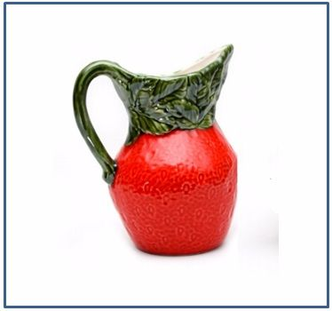 Strawberry Tall Jug