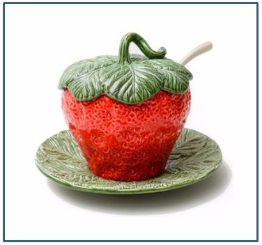Strawberry Tureen