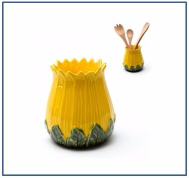 Sunflower Utensil Holder