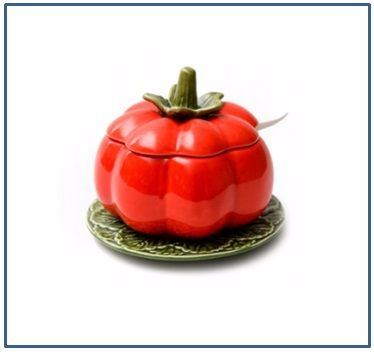 Tomato Sauce or Jam Pot