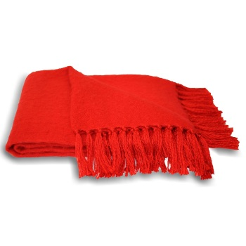 Chiltern Blanket - Cherry