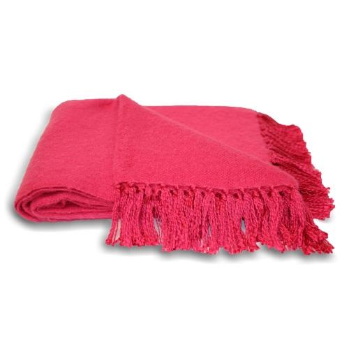 Chiltern Blanket - Fuchsia