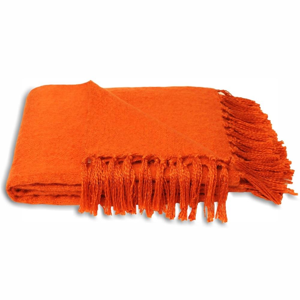 Chiltern Blanket - Orange