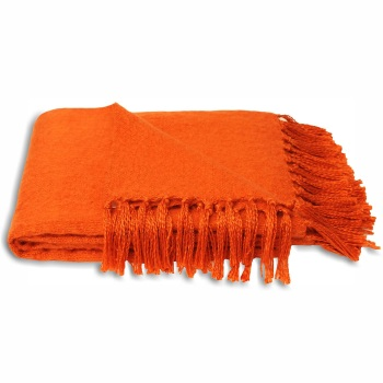 Chiltern Blanket - Orange