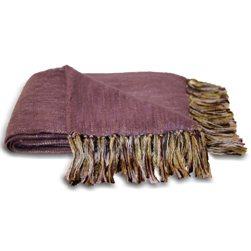 Chiltern Blanket - Plum