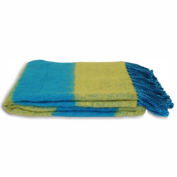 Twizzle Blanket - Blue-Green