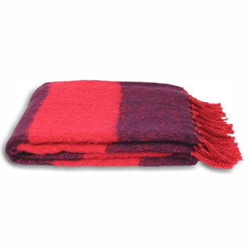 Twizzle Blanket - Pink-Purple