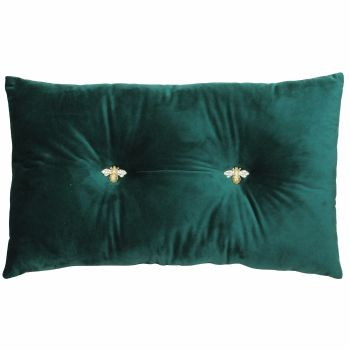 Bumble Cushion - Emerald