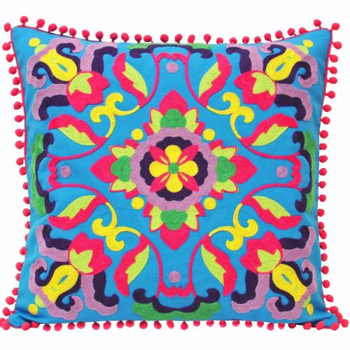 Gethsemane Cushion - Blue
