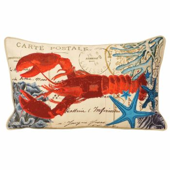 Sealife Cushion - Lobster