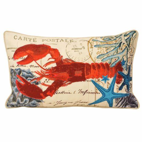 Sealife Cushion - Lobster