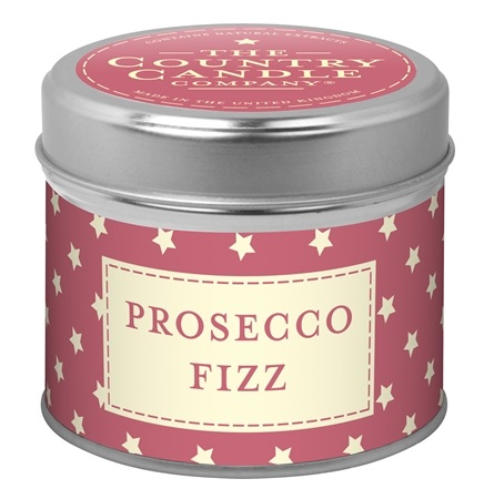 Candle in Tin - Prosecco Fizz