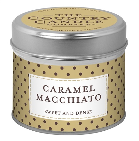 Candle in Tin - Caramel Macchiato