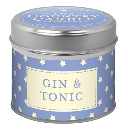 Candle in Tin - Gin and Tonic