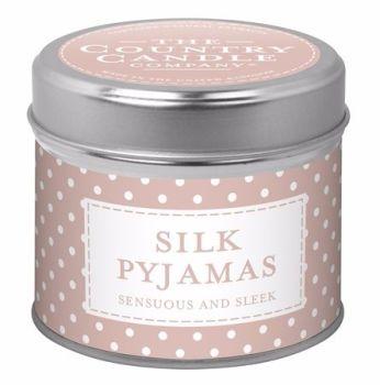 Candle in Tin - Silk Pyjamas