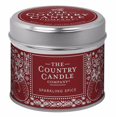 Candle in Tin - Sparkling Spice
