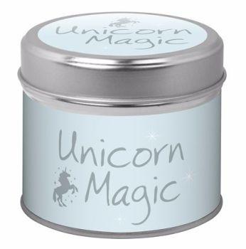 Candle in Tin - Unicorn Magic