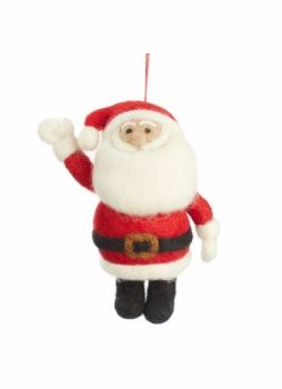 Felt Hanging Santa