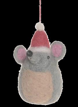 Felt Festive Mouse