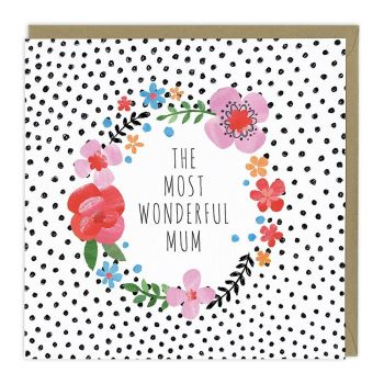 Wonderful Mum Card