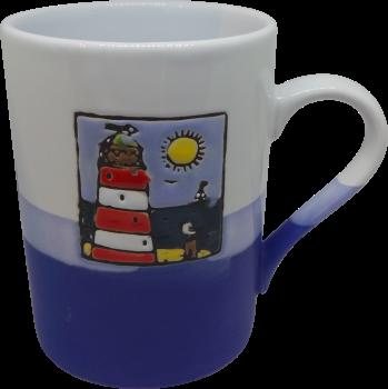 450ml Mug - Red Lighthouse