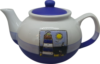 Teapot - Blue Lighthouse