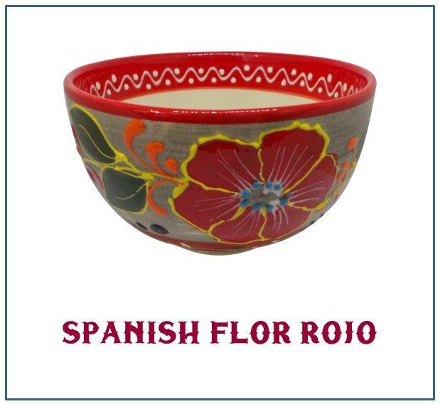 Spanish 'Flor Rojo' Range