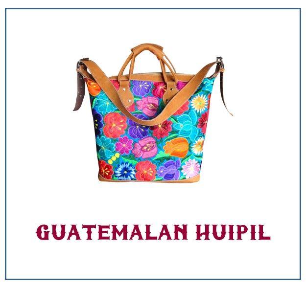 Guatemalan Huipil Bags