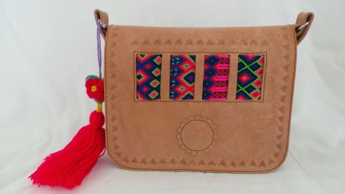 Mexican Woven Bag - Natural (10)