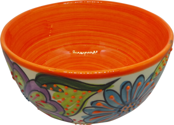 14cm Cereal Bowl  - Verano Orange