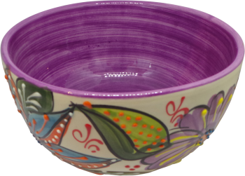 14cm Cereal Bowl  - Verano Purple