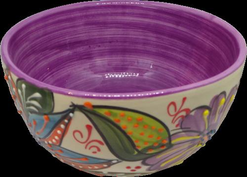 14cm Cereal Bowl  - Verano Purple