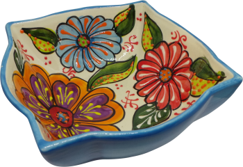 18cm Ornate Bowl  - Verano Blue
