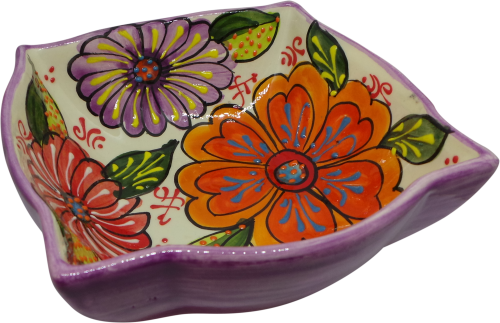 18cm Ornate Bowl  - Verano Purple