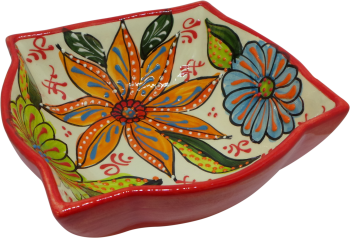 18cm Ornate Bowl  - Verano Red