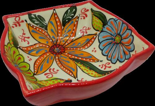 18cm Ornate Bowl  - Verano Red