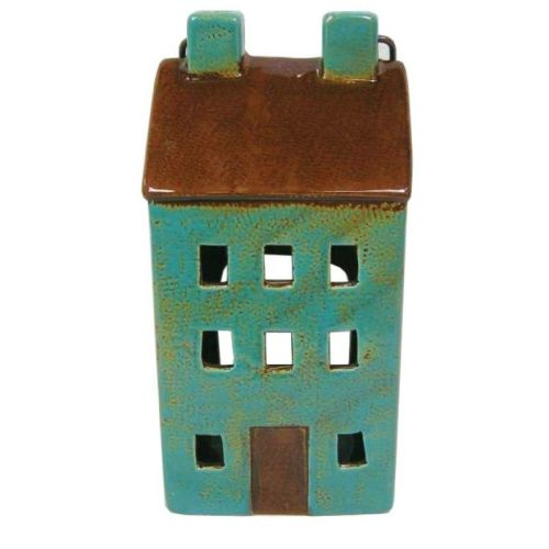 Blue Tealight House