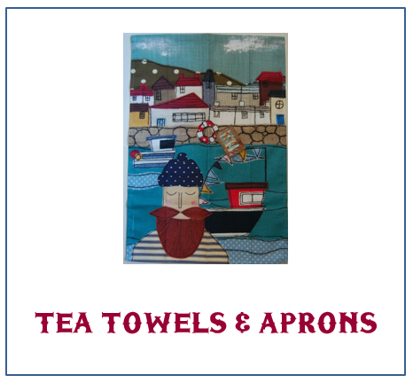 Coastal Tea Towels