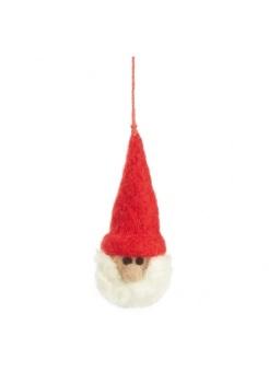 Felt Santa Head