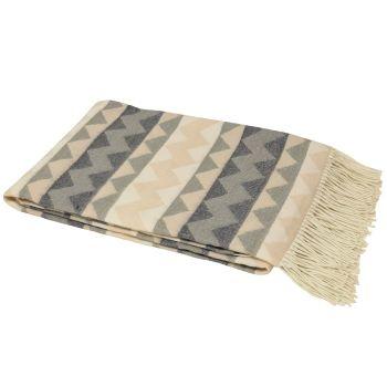 Aztec Blanket - Natural