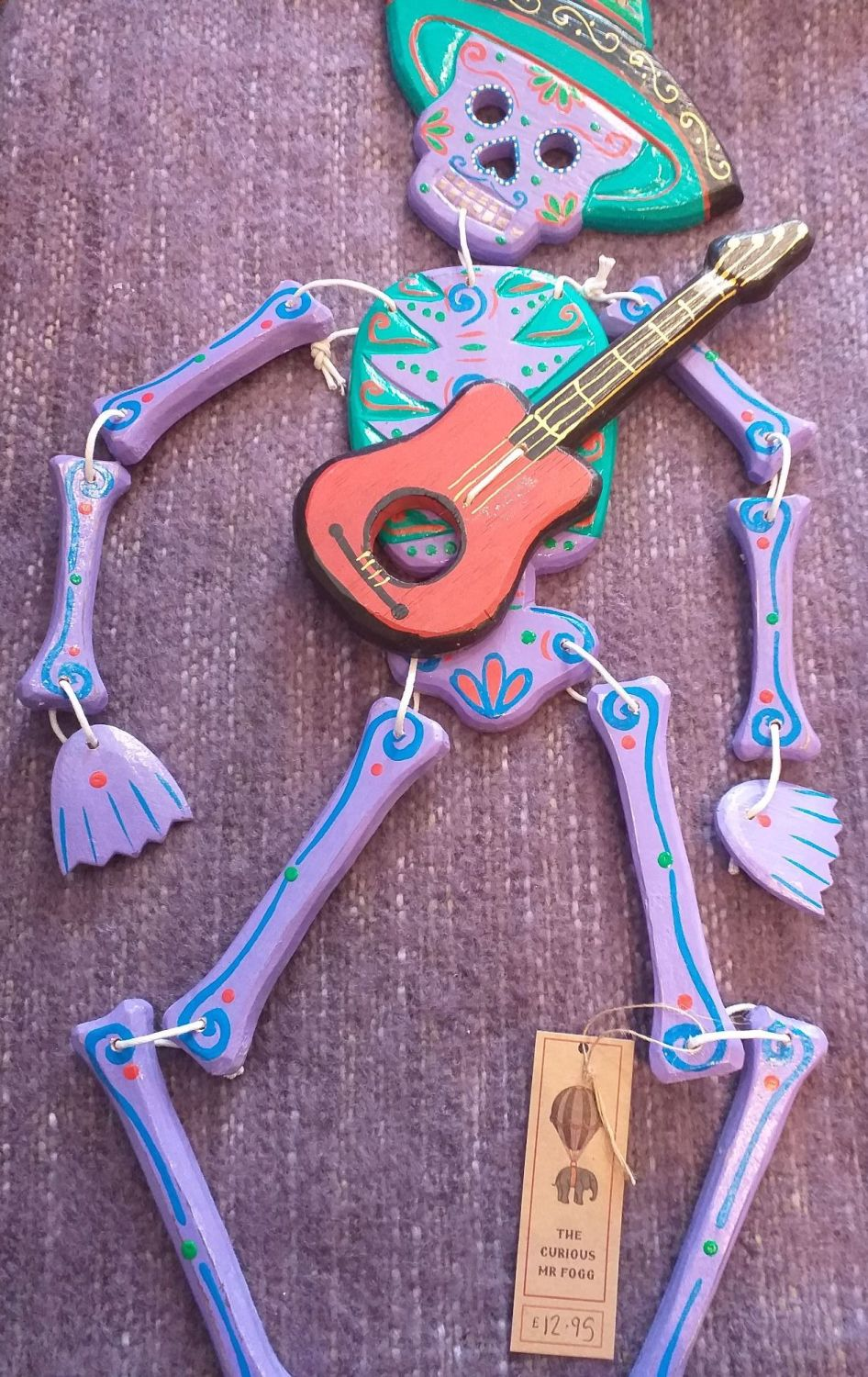 Wooden Skeleton - Mariachi